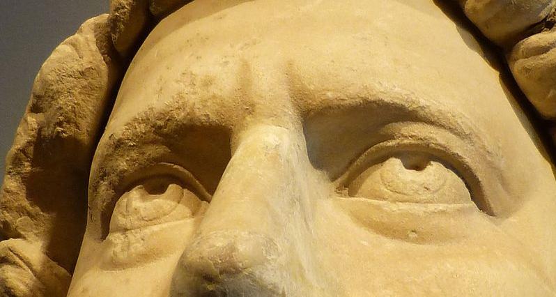 statue of emperor Hadrian