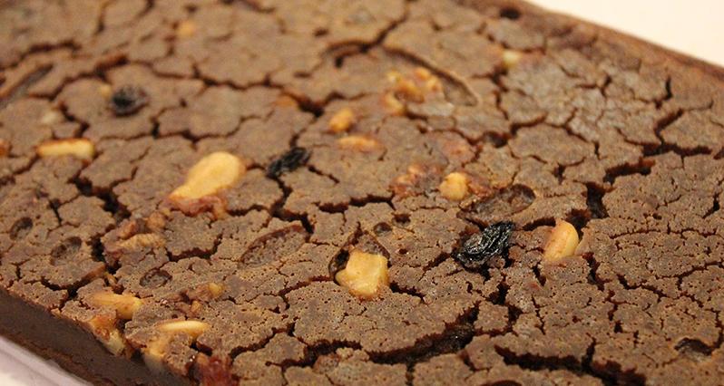 castagnaccio (chestnut flour bread or cake)