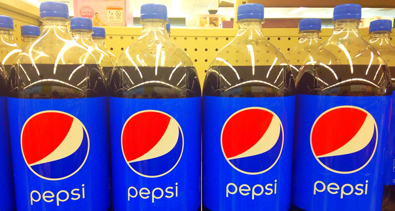 2-liter bottles of pepsi