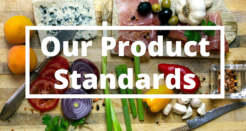 our product standards