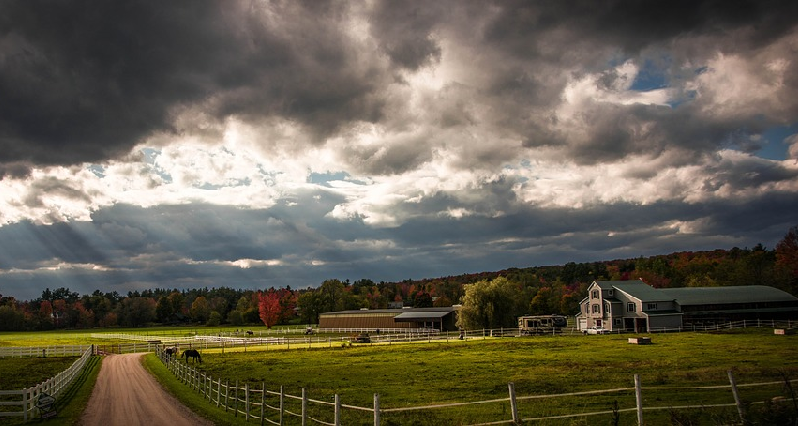 a farm in vermont