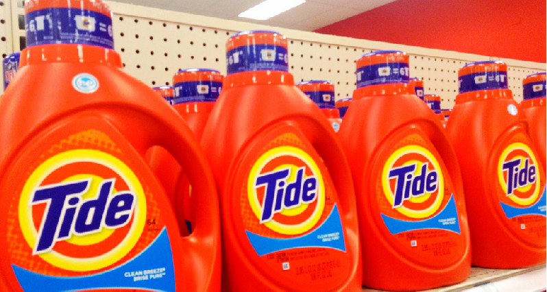tide detergents in a retail store