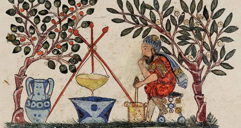 image from an ancient materia medica