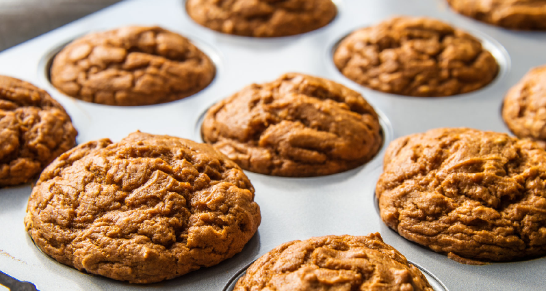 sweet potato chia muffins