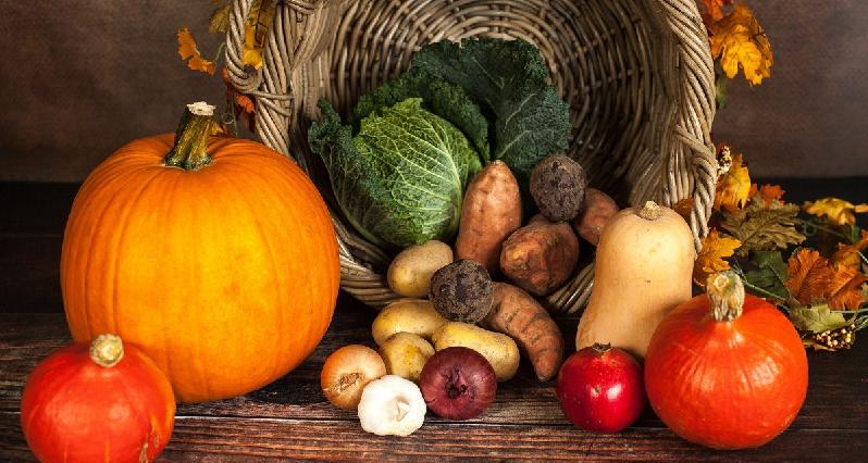 a cornucopia of vegetables