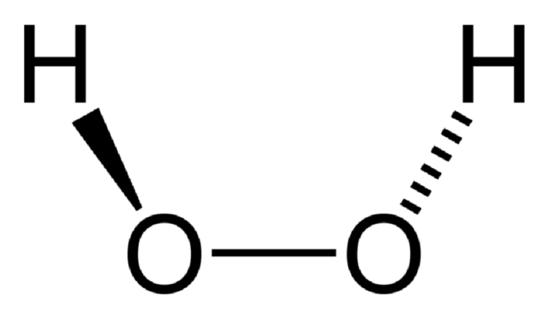 hydrogen peroxide molecule