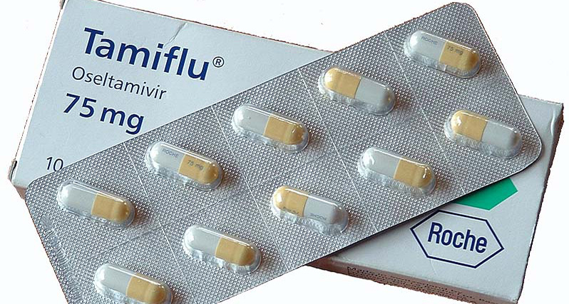 a package of tamiflu pills