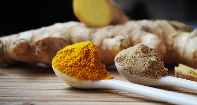 powdered turmeric & ginger