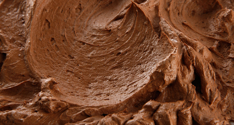 raw chocolate frosting